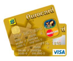 OUROCARD VISA, MASTERCARD - BANCO DO BRASIL