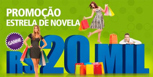 PROMOÇÃO ESTRELA DE NOVELA - WWW.PAPOFEMININO.COM.BR