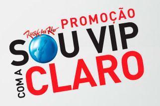 PROMOÇÃO ROCK IN RIO SOU VIP COM A CLARO