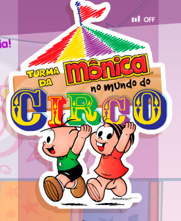 TURMA DA MÔNICA NO MUNDO DO CIRCO - WWW.MONICANOCIRCO.COM.BR