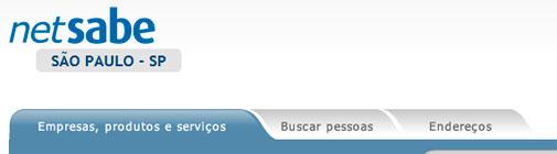 NETSABE - LISTA TELEFÔNICA ONLINE - WWW.NETSABE.COM.BR