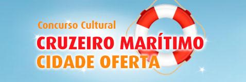 PROMOÇÃO CRUZEIRO MARÍTIMO CIDADE OFERTA - WWW.CIDADEOFERTA.COM.BR