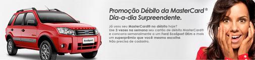 PROMOÇÃO DÉBITO MASTERCARD
