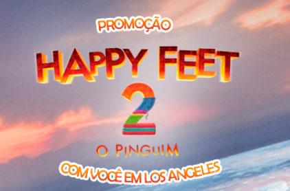 PROMOÇÃO HAPPY FEET 2 COM VOCÊ EM LOS ANGELES - WWW.ATLANTICAHAPPYFEET2.COM.BR