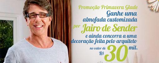 PROMOÇÃO PRIMAVERA GLADE - WWW.GLADE.COM.BR