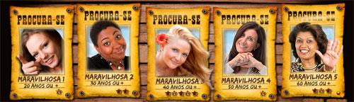 PROMOÇÃO USAFLEX - PROCURA-SE 5 MULHERES MARAVILHOSAS - WWW.USAFLEX.COM.BR
