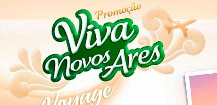 PROMOÇÃO VIVA NOVOS ARES - WWW.VIVANOVOSARES.COM.BR - VOYAGE AI WICK
