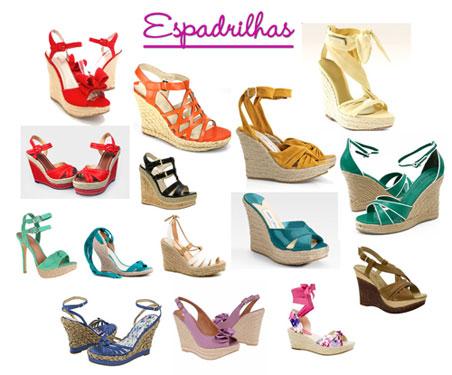 SANDÁLIAS ESPADRILLES - MODA VERÃO 2012 FEMININA