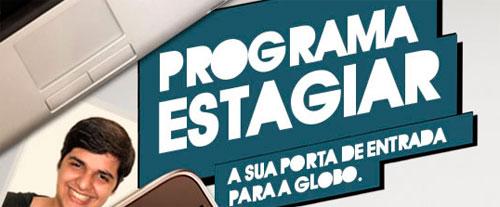ESTAGIO NA REDE GLOBO - VAGAS DE EMPREGO - WWW.TALENTOSTVGLOBO.COM.BR
