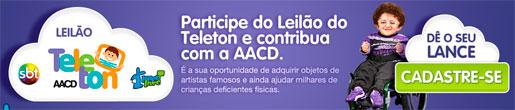 LANCE LIVRE - LEILÃO VIRTUAL, TELETON - WWW.LANCELIVRE.COM/TELETON