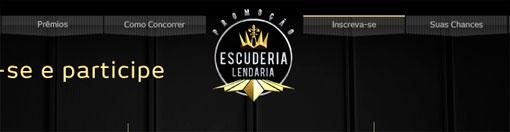 PROMOÇÃO ESCUDERIA LENDÁRIA BRADESCO - WWW.ESCUDERIALENDARIA.COM.BR