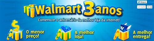 PROMOÇÃO WALMART 3 ANOS - TODO DIA 1000 REAIS PRA VOCÊ