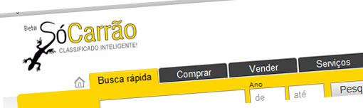 SÓ CARRÃO - CLASSIFICADOS DE VEÍCULOS - WWW.SOCARRAO.COM.BR