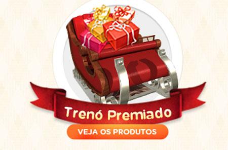 PROMOÇÃO DE NATAL TRENÓ PREMIADO MAGAZINE LUIZA