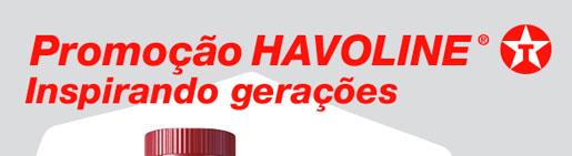 PROMOÇÃO HAVOLINE INSPIRANDO GERAÇÕES - WWW.PROMOCAOHAVOLINE.COM.BR