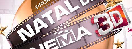 PROMOÇÃO NATAL DE CINEMA 3D LG