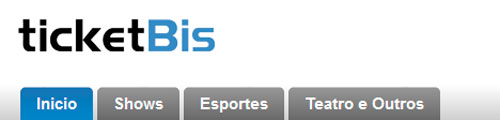 TICKETBIS - INGRESSOS, SHOWS, SITE: WWW.TICKETBIS.COM.BR