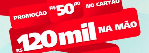 WWW.SANTANDER.COM.BR/50NOCARTAO120MILNAMAO - PROMOÇÃO SANTANDER R$50 NO CARTÃO, R$120 MIL NA MÃO