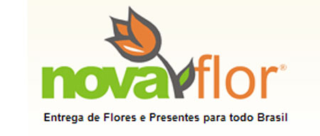 NOVA FLOR - FLORES ONLINE - WWW.NOVAFLOR.COM.BR