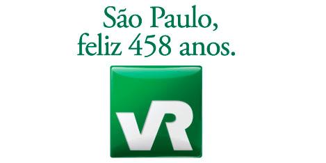 WWW.VR458.COM.BR - PROMOÇÃO SÃO PAULO, FELIZ 458 ANOS - VR 458