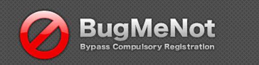 BUGMENOT - LOGINS E SENHAS DE SITES - WWW.BUGMENOT.COM