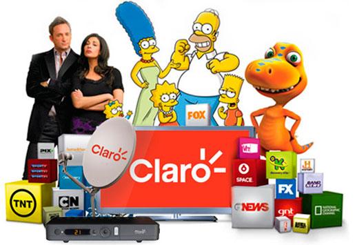 CLARO TV POR ASSINATURA - WWW.CLARO.COM.BR/CLAROTV
