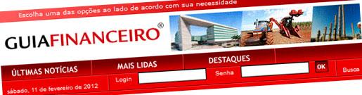 DINHEIRO VIVO - GUIA FINANCEIRO - WWW.DINHEIROVIVO.COM.BR