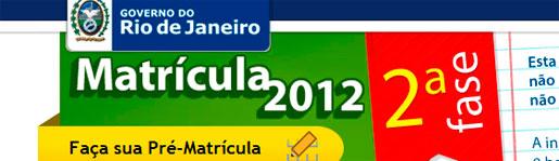 MATRÍCULA FÁCIL RJ - WWW.MATRICULAFACIL.COM.BR