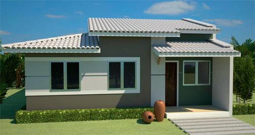 Plantas de casas modernas gr tis for Plantas de viviendas modernas