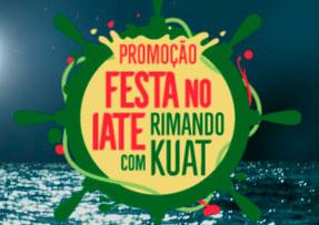 PROMOÇÃO FESTA NO IATE RIMANDO COM KUAT - WWW.KUAT.COM.BR