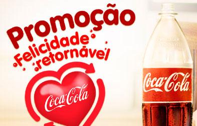 PROMOÇÃO FELICIDADE RETORNÁVEL COCA-COLA
