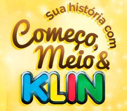 PROMOÇÃO KLIN SUA HISTÓRIA COM COMEÇO, MEIO E KLIN