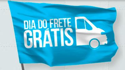 WWW.DIADOFRETEGRATIS.COM.BR - DIA DO FRETE GRÁTIS - FREE SHIPPING DAY