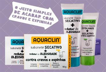AQUACLIN SABONETE - CRAVOS E ESPINHAS, PREÇO, ONDE COMPRAR - WWW.AQUACLIN.COM.BR