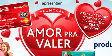 PROMOÇÃO AMOR PRA VALER - WWW.CARTAOAMERICANAS.COM.BR/PG