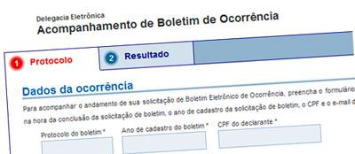 CONSULTAR BOLETIM DE OCORRÊNCIA SP ONLINE