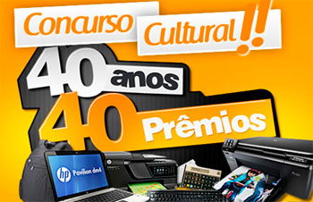 PROMOÇÃO KALUNGA 40 ANOS 40 PRÊMIOS