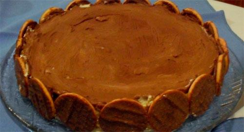 RECEITA DE TORTA DE BOLACHA - COMO FAZER, PREPARO