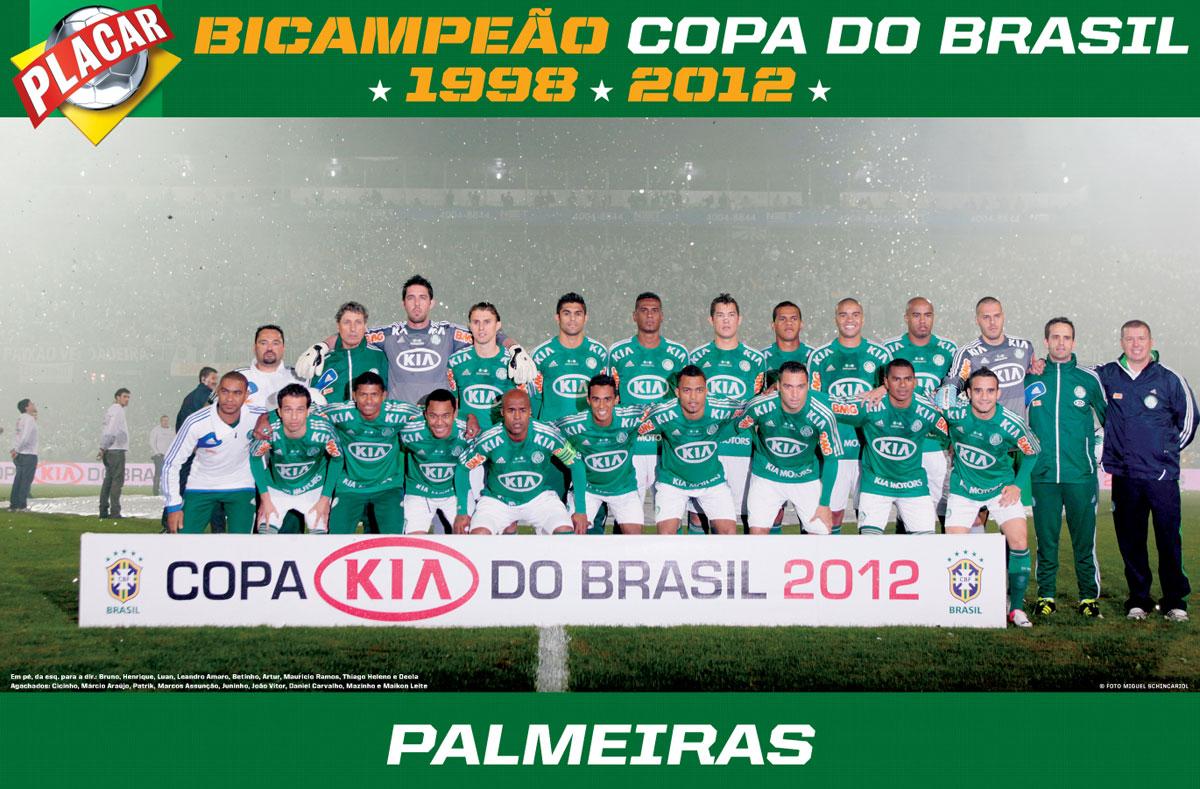 POSTER PALMEIRAS CAMPEÃO DA COPA DO BRASIL 2012