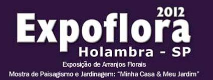 EXPOFLORA 2012 - SITE: WWW.EXPOFLORA.COM.BR