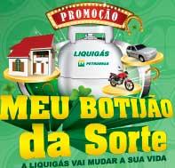 PROMOÇÃO LIQUIGÁS MEU BOTIJÃO DA SORTE - WWW.MEUBOTIJAODASORTE.COM.BR