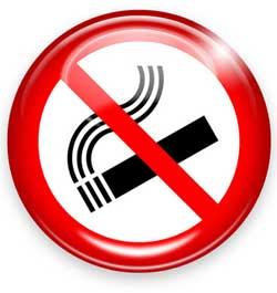 Tempo para deixar de fumar o apêndice