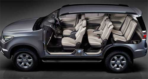 FOTOS INTERNA CHEVROLET TRAILBLAZER 2013