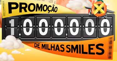 WWW.1MILHAODEMILHAS.COM.BR - PROMOÇÃO 1000000 DE MILHAS SMILES GOL