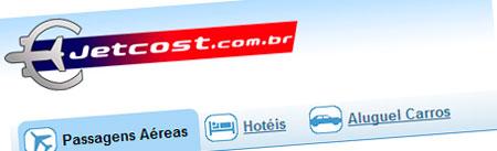 WWW.JETCOST.COM.BR - PASSAGENS AÉREAS, HÓTEIS, ALUGUEL DE CARROS - JETCOST