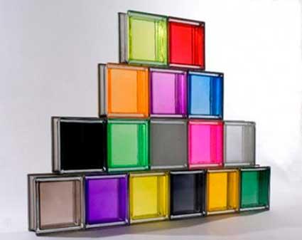 Decora o com tijolo de vidro fotos ambientes dicas for Pose carreau de verre exterieur