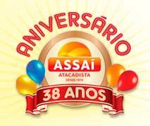 WWW.ANIVERSARIOASSAI.COM.BR - PROMOÇÃO DE ANIVERSÁRIO ASSAÍ