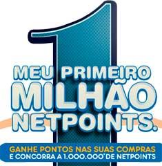 WWW.MEUPRIMEIROMILHAONP.COM.BR - PROMOÇÃO MEU PRIMEIRO MILHÃO NETPOINTS