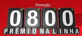 WWW.PROMOCAOMOTOROLA.COM.BR - PROMOÇÃO 0800 PRÊMIO NA LINHA