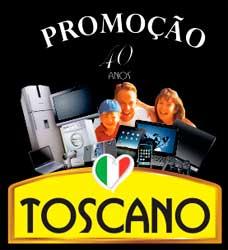 WWW.TOSCANOALIMENTOS.COM.BR - PROMOÇÃO TOSCANO 40 ANOS